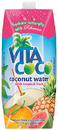 100% Pure Coconut Water, Tropical, 17oz (12 pack)