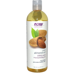 Now Foods- 100% Sweet Pure Almond Oil, 16oz