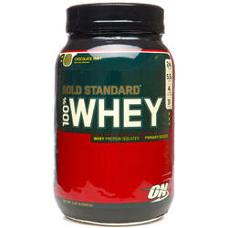Optimum Nutrition- 100% Whey Protein, Chocolate Mint, 2lbs