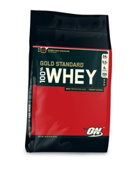 Optimum Nutrition- 100% Whey Protein, Double Rich Chocolate, 10lbs