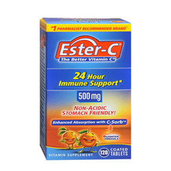 Ester-C- 500 mg Coated, 120 tablets