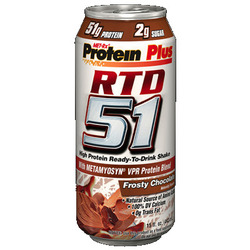 Met-Rx- 51, Frosty Chocolate, 15floz (12 pack)