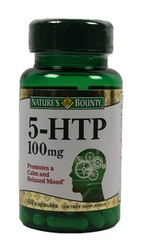 Nature's Bounty- 5-HTP (L-5-Hydroxytryptophan), 100mg, 60 capsules