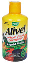 Alive!, Liquid Multi-Vitamin & Mineral, Natural Citrus, 30floz