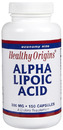 Alpha Lipoic Acid, 300mg, 150 capsules