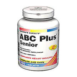 ABC Plus- Senior with Lutein & Lycopene (Centrum Silver), 100 tablets