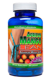 MaritzMayer Laboratories- African Mango Lean, Advanced Weight Loss, 60 capsules