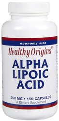 Healthy Origins- Alpha Lipoic Acid, 300mg, 150 capsules