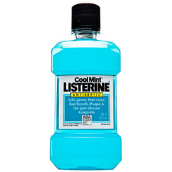 Listerine- Antiseptic Mouthwash, Coolmint, 250mL