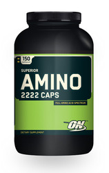 Optimum Nutrition- Amino 2222, 150 capsules