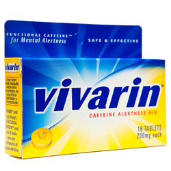 Vivarin- Alertness Aid, Extra Strength, 16 tablets