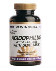 Windmill- Acidophilus with Goat Milk, 100 Capsules