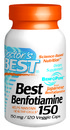 Best Benfotiamine, 150mg, 120 vegetable capsules