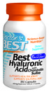 Best Hyaluronic Acid with Chondroitin Sulfate, 180 capsules