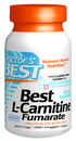 Best L-Carnitine Fumarate featuring Tau Carnitine, 855mg, 180 vegetable capsules