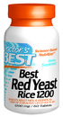 Best Red Yeast Rice, 1200mg, 60 tablets