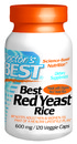 Best Red Yeast Rice, 600mg, 120 vegetable capsules