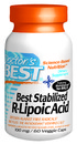 Best Stabilized R-Lipoic Acid, BioEnhanced, 100mg, 60 vegetable capsules
