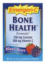 Emergen-C- Bone Health, Mixed Berry (30 pack)
