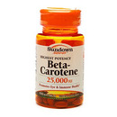 Beta Carotene, 25,000IU, 100 softgels