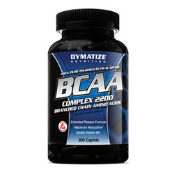 Dymatize- BCAA Complex 2200, 200 capsules