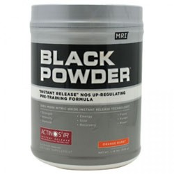 MRI- Black Powder, Orange Burst, 1.76lbs