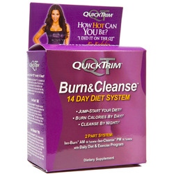 Quick Trim- Burn/Cleanse 14 Day System, 1 Kit