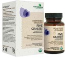 Certified Organic Five Grasses, 90 vegetarian tablets