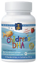 Nordic Naturals- Children's DHA, 250mg, Strawberry, 90 Chewable Softgels