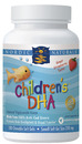 Children's DHA, Strawberry, 180 Chewable Softgels