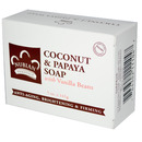 Coconut & Papaya Soap, 5oz, 141 grams