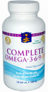 Nordic Naturals- Complete Omega 3-6-9, 1000mg, Lemon, 120 Softgels
