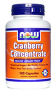 Cranberry, Concentrate, 100 capsules