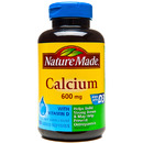 Nature Made- Calcium 600mg + D, 100 Softgels