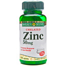Chelated Zinc, 50mg, 100 caplets