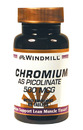Chromium Picolinate, 500mcg, 60 Tablets