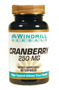 Cranberry Extract, 250mg, 60 Capsules