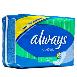 Always- Classic Maxi Pads (12 pack)