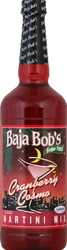 Baja Bob's- Cranberry Cosmopolitan Martini Mix, 32oz