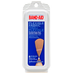 Band-Aids- Clear Strips, Travel Pack (8 count)