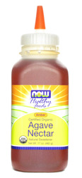 Now Foods- Certified Organic, Amber Agave Nectar, 17oz