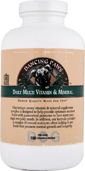 Dancing Paws- Canine Multi Vitamin, 180 wafer