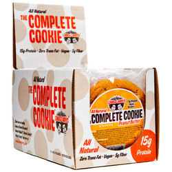 Lenny & Larry's- Complete Vegan Protein, Cookie Peanut Butter (12 pack)