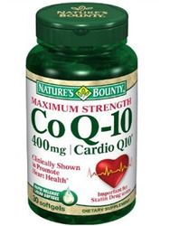 Nature's Bounty- Co Q-10, 400mg, 30 softgels