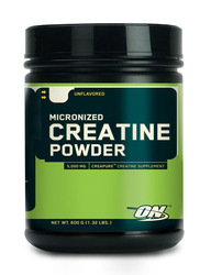 Optimum Nutrition- Creatine Powder, 600 grams