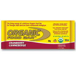 Organic Food Bar- Cranberry (12 pack)