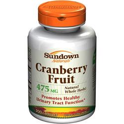 Sundown Naturals- Cranberry Fruit, 200 capsules