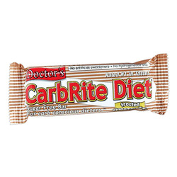Universal Nutrition- Carb Rite Bar, Cinnamon Bun (12 pack)