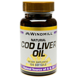Windmill- Cod Liver Oil, 100 Softgels