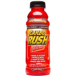 Worldwide Sport Nutrition- Carbo Rush, Power Punch, 20oz (12 pack)